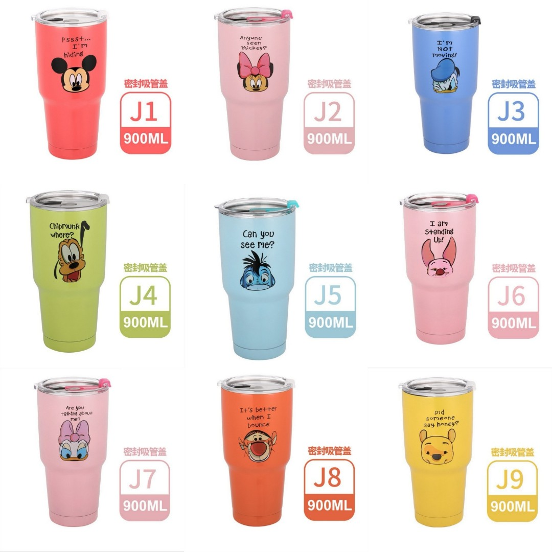 5a939fe6965 Disney | Hello Kitty | Doraemon | Mickey Mouse | Others | High Quality  Stainless Steel Vacuum insulated Tumbler with lid | Travel mug | Water  bottle | ...