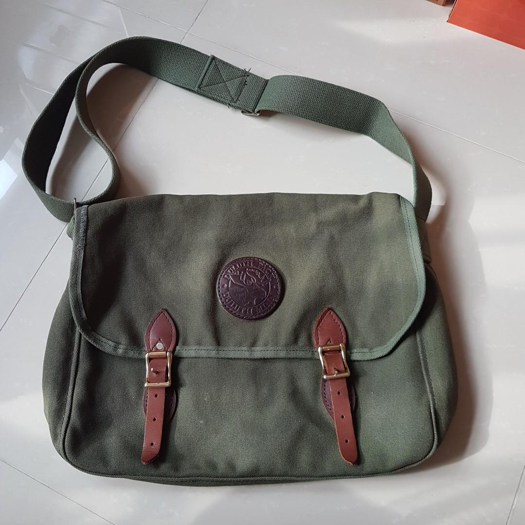 """Duluth Pack Made in USA Messenger Bag 18"""""""