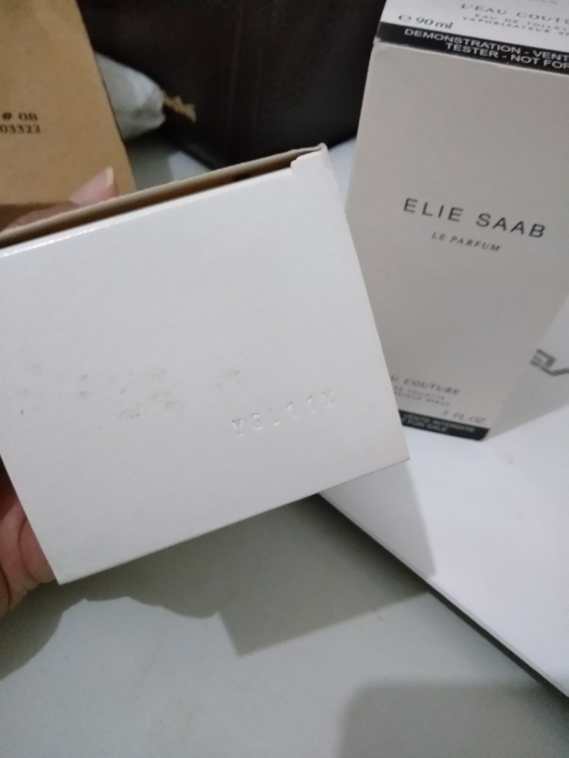 ELIE SAAB EDT 100% original Leau couture and Rose Couture