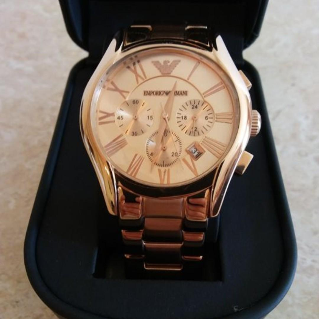 Emporio Armani Chronograph Men's Watch AR0365