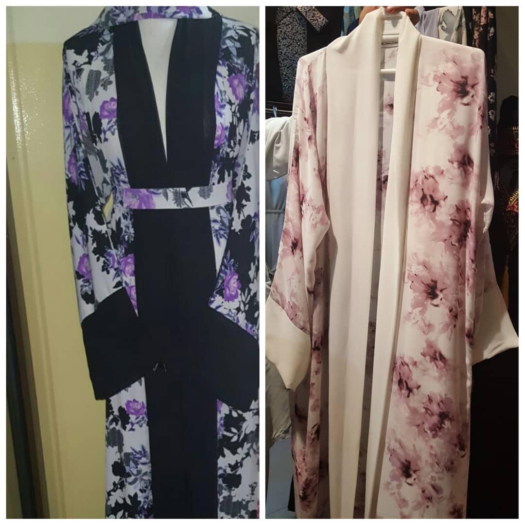 SELLING FAST Floral kimono abaya cardigan