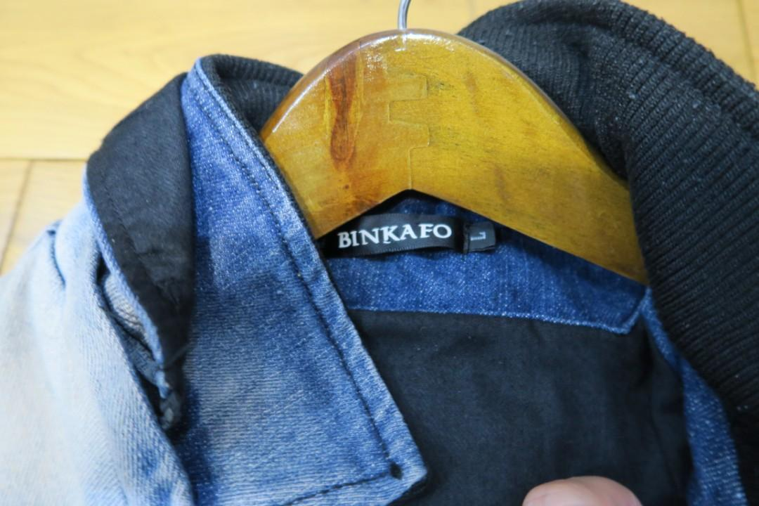 Jaket 2warna merek BINKAFO