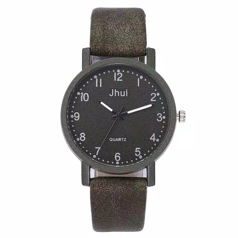 Jam tangan Jhui Wanita Leather Band