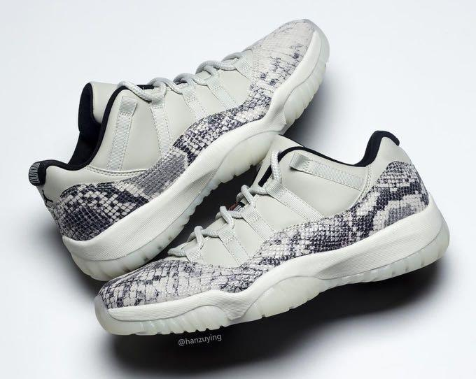 "Jordan 11 retro Low ""Snake"" US 9"