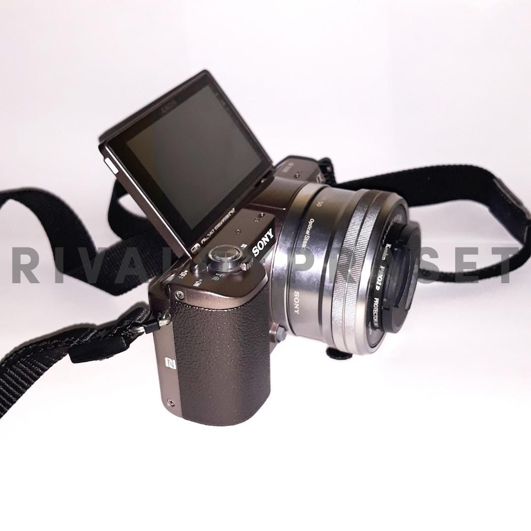 JUAL KAMERA SONY A5100 + BONUS MEMORI 16GB + 8GB