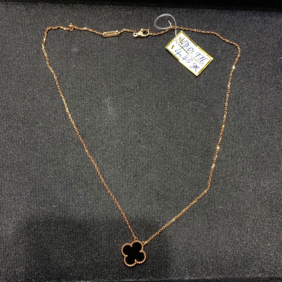 Kalung emas murni italy kadar 750 % handmade