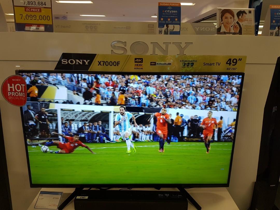 Kredit Smart TV 49 inch proses cepat sekitar 3 menit
