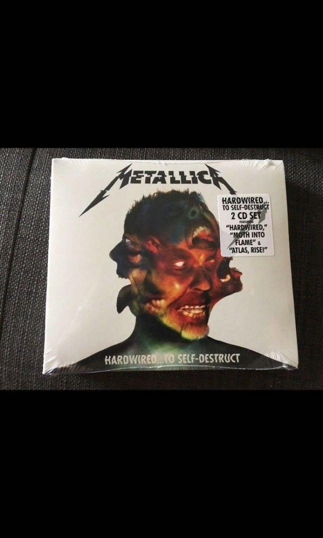 Like new! Metallica: Hardwired to Self Destruct (2 Disc Set)