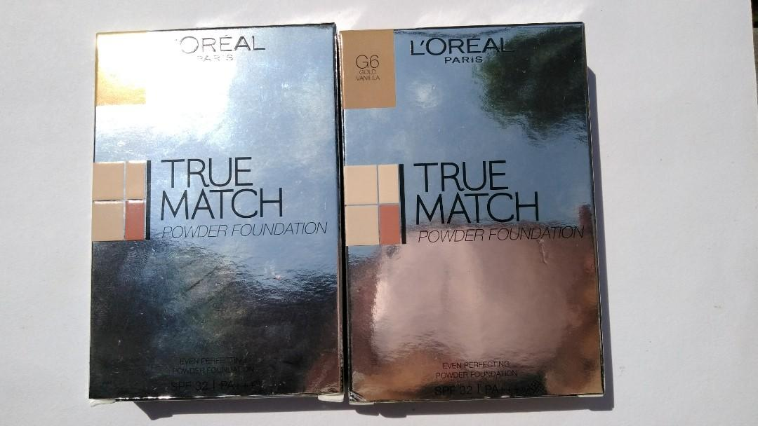 Loreal true match powder foundation