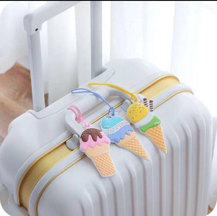 Luggage Tag Ice-cream Sundae