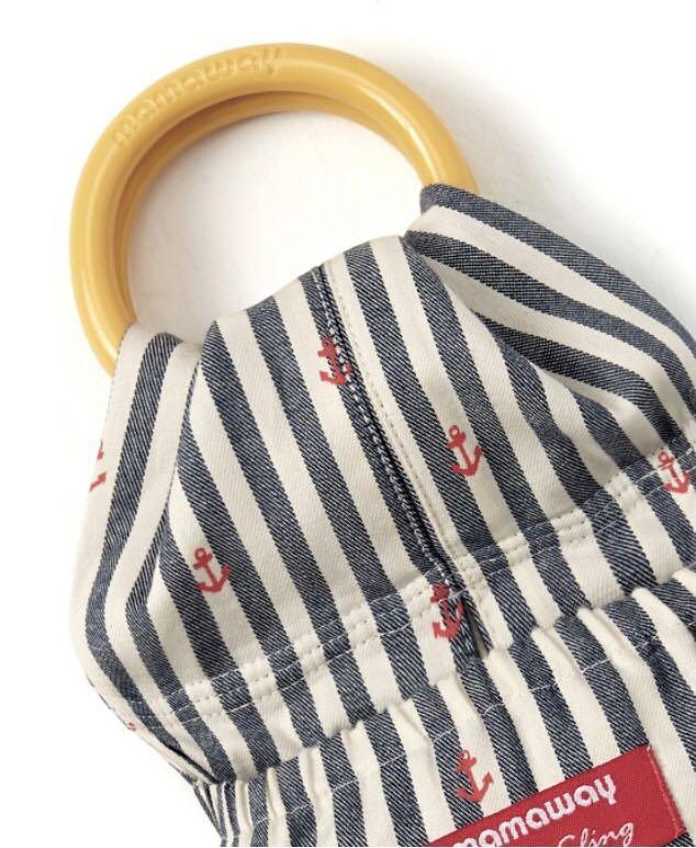 mamaway小紅錨育兒哺乳背巾~