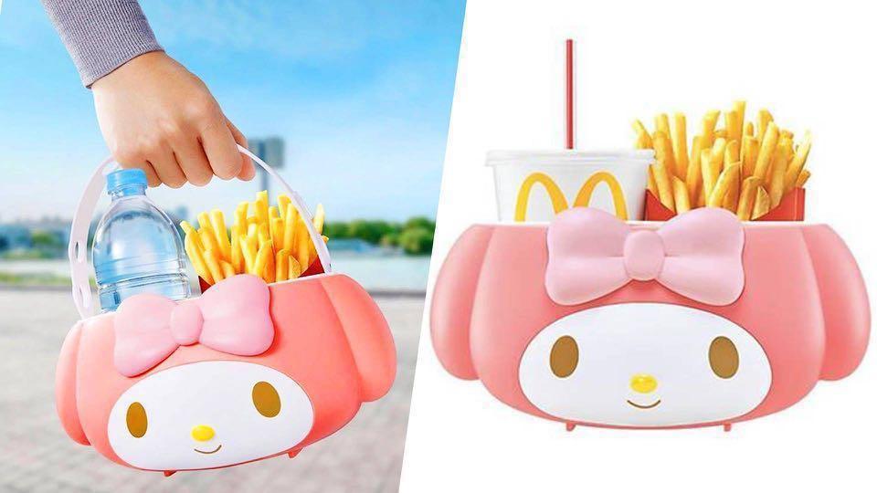 McDonald's My Melody Basket