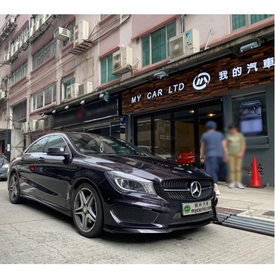 MERCEDES-BENZ CLA250 2014