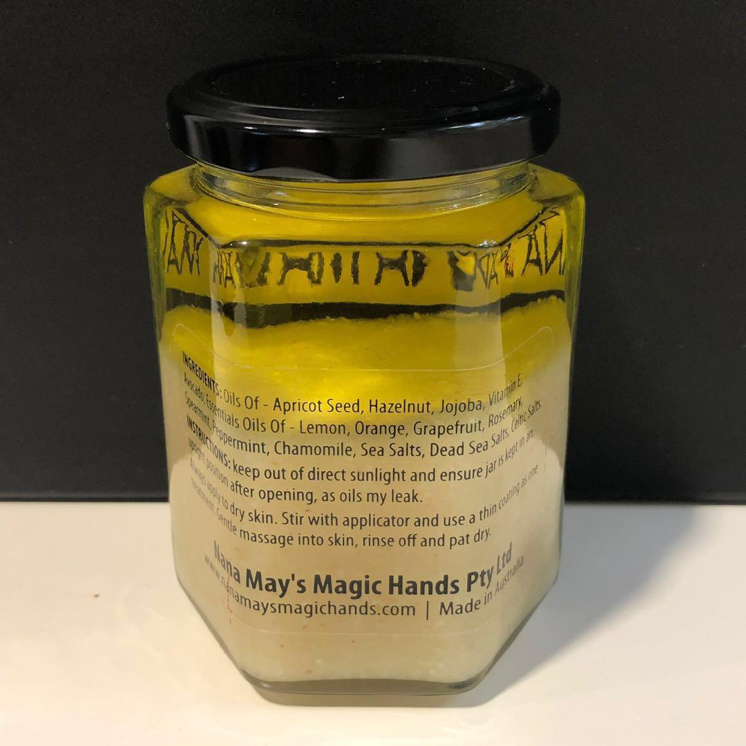 Nana May's Magic Body Scrub for Hands, Body and Feet