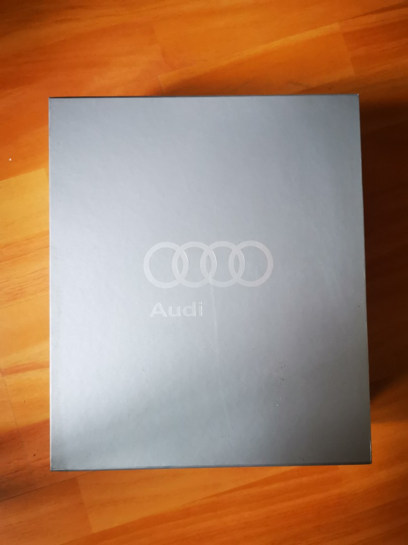 (New) Audi key ring, cash card, document holder, book collector item  limited edition
