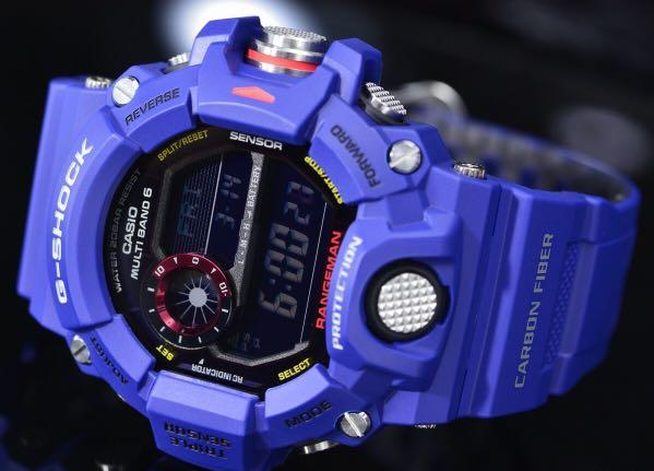 New Authentic sealed Casio G-Shock Men in Navy Rangeman GW-9400NV-2 Band and Bezel Set Limited edition