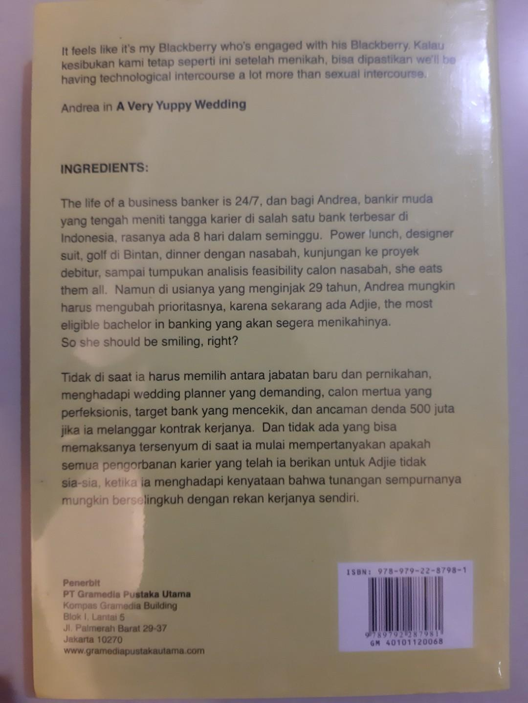 Novel Romance: A very yuppy wedding by Ika Natassa