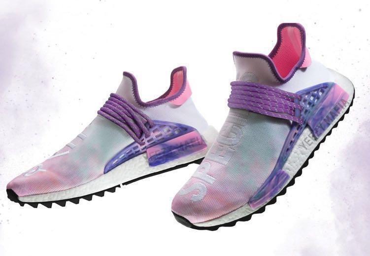 Pharrell x Adidas NMD Hu Trail Holi