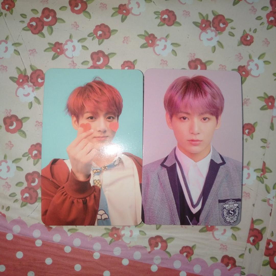 Photocard/pc Jungkook from album Love Yourself Answer versi F dan L official