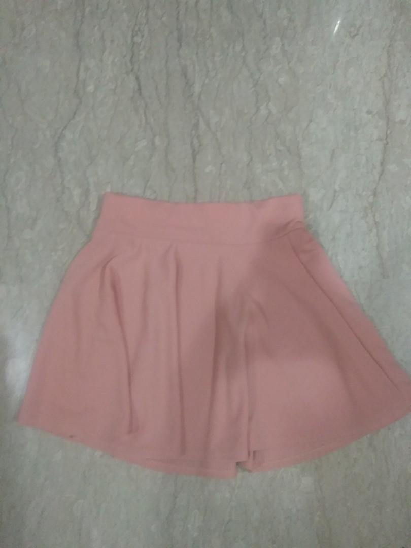 Pink Flare Skirt