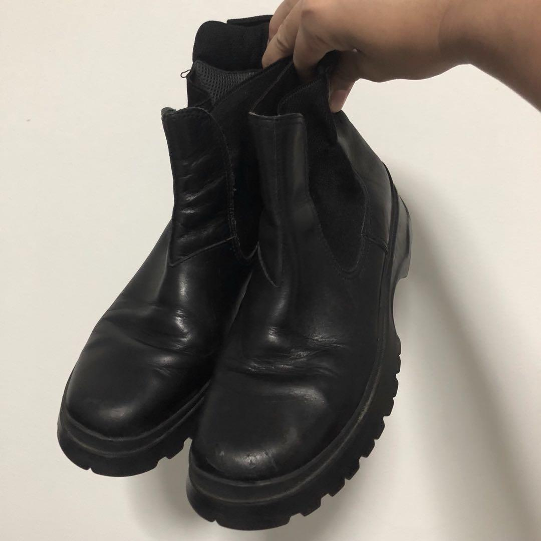 prada chelsea boots mens