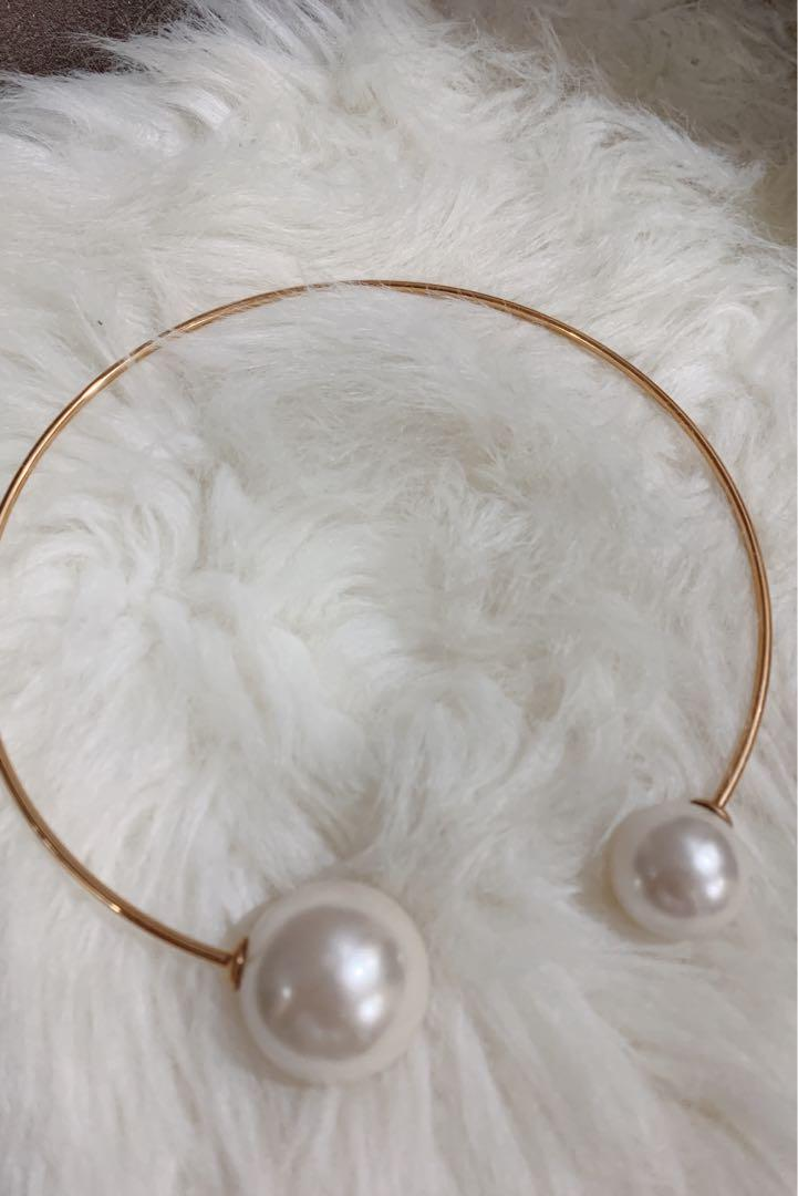 [PRELOVED] No Brand Pearl Collar Necklace