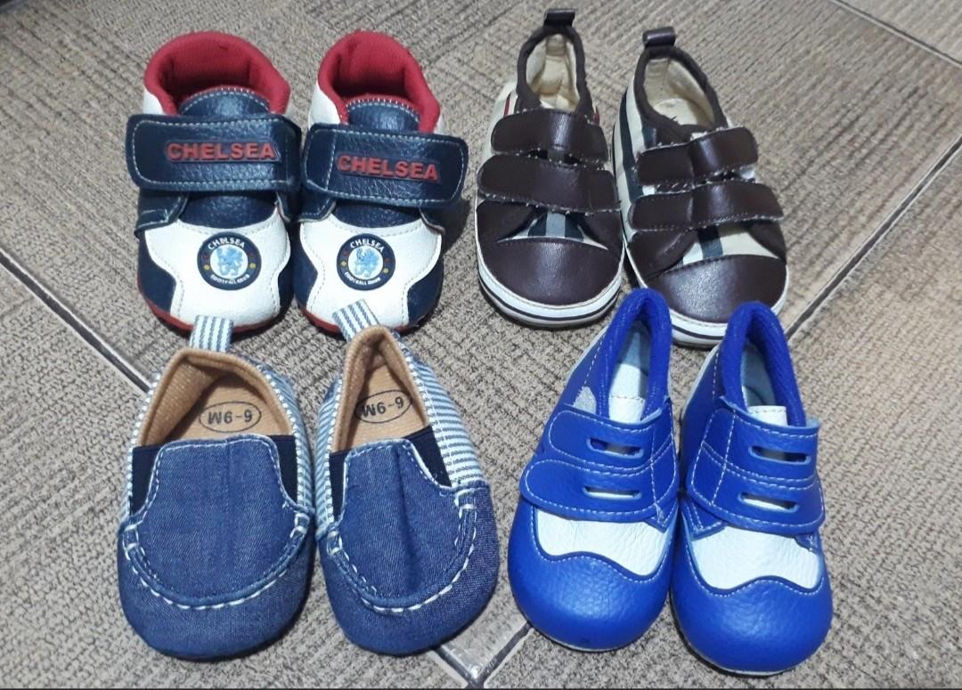 Preloved Sepatu dan Kaos Kaki Prewalker