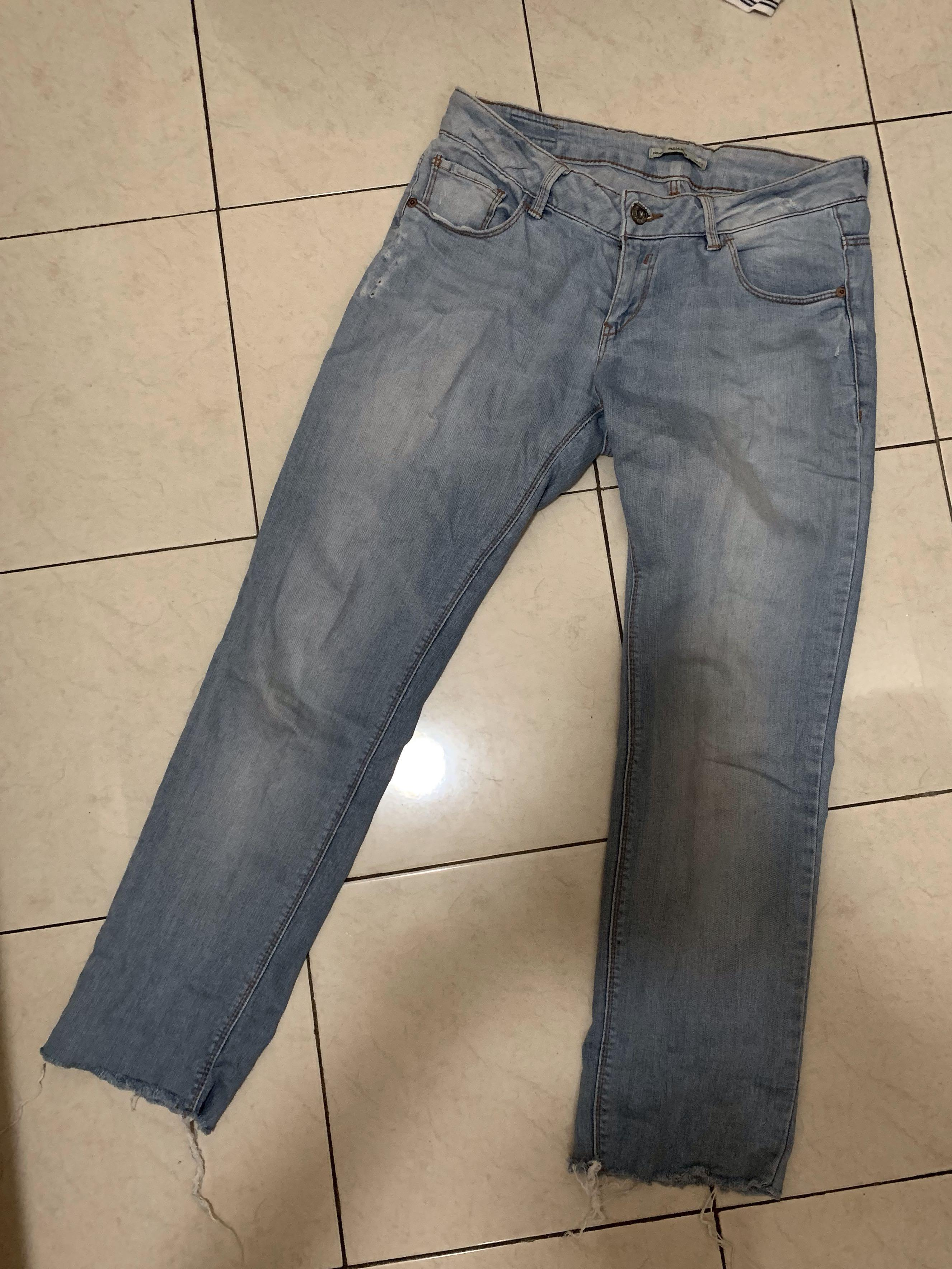 Pull and Bear low waist jeans