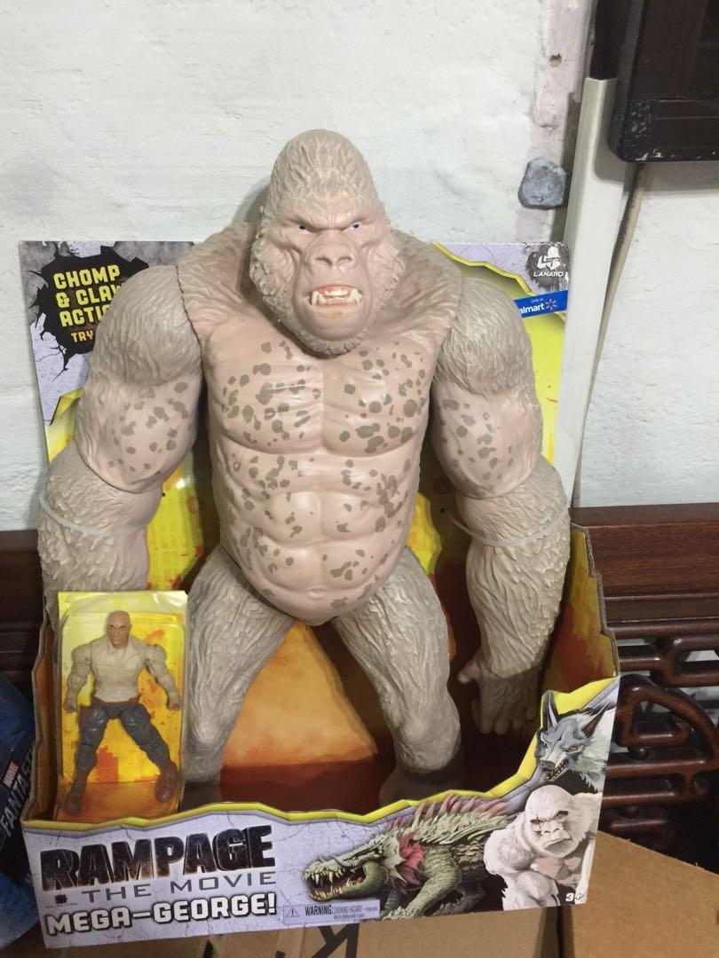 Rampage The Movie The Rock Mega George 16 Inch Figure Toys