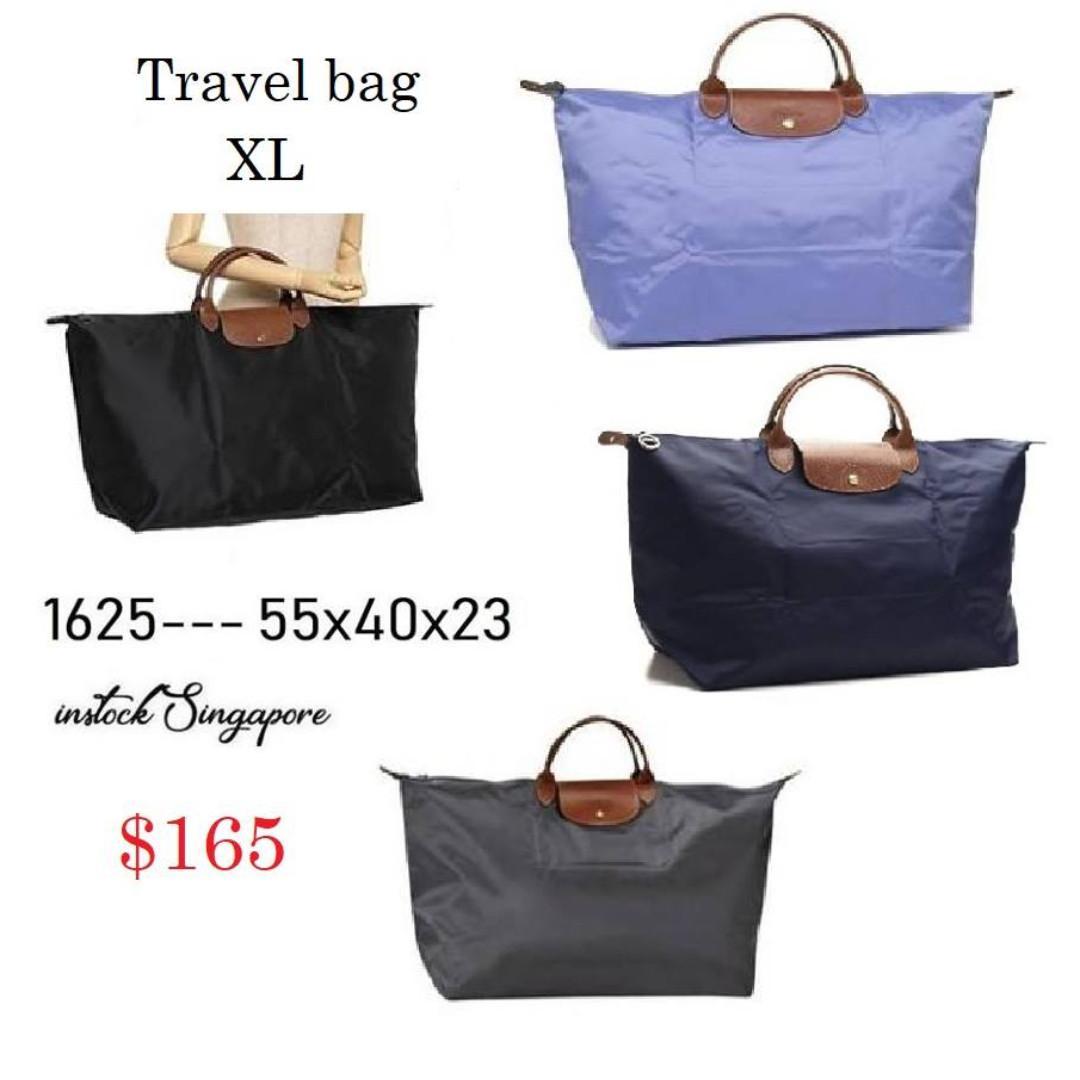 READY STOCK - AUTHENTIC - NEW  Longchamp LE PLIAGE foldable travel bag extra LARGE XL 1625--- 55x40x23 cm