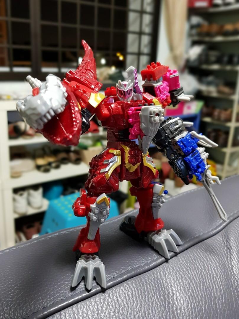 BNIB] Ryusoulger Mecha Power Rangers Megazord, Toys & Games