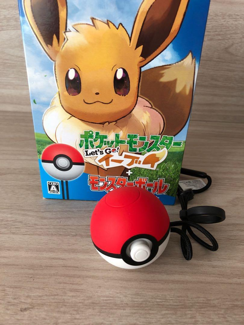 Selling Japanese version let's go eevee with pokeball plus
