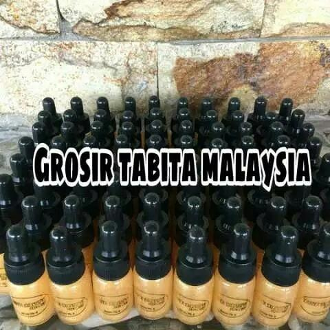 Serum tabita glow drop hitam