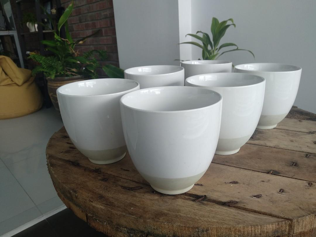 Set of 6 Large Bowls