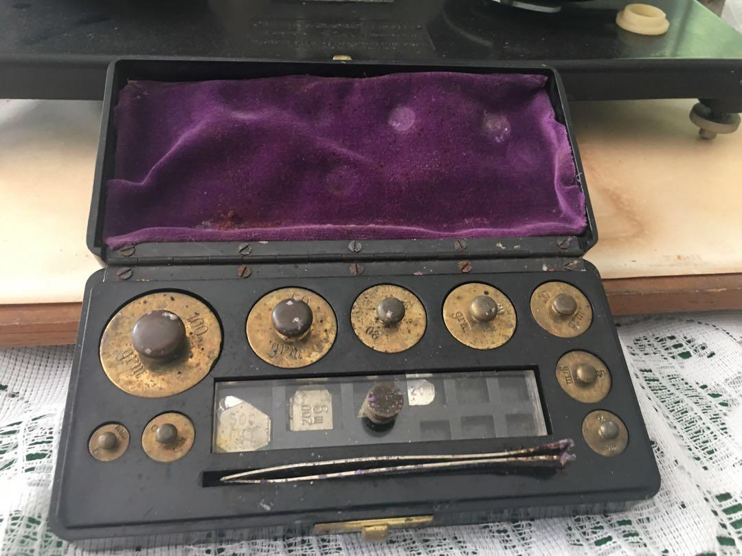 SET OF VINTAGE 'GRIFFIN & GEORGE LIMITED' SCALES
