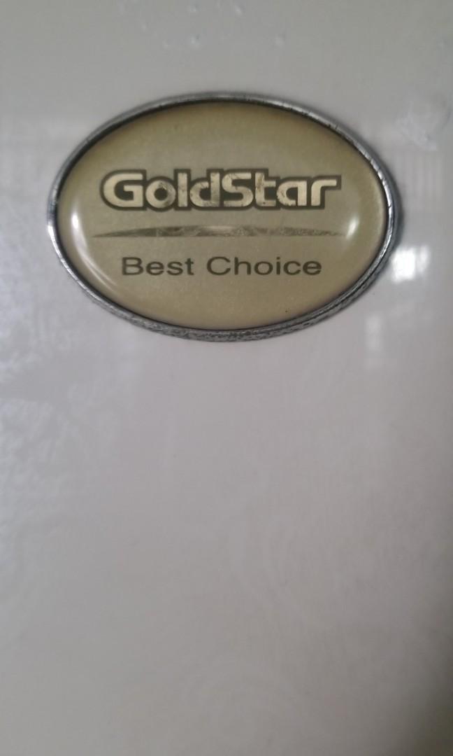 Goldstar Refrigrator kulkas Gede 2 pintu