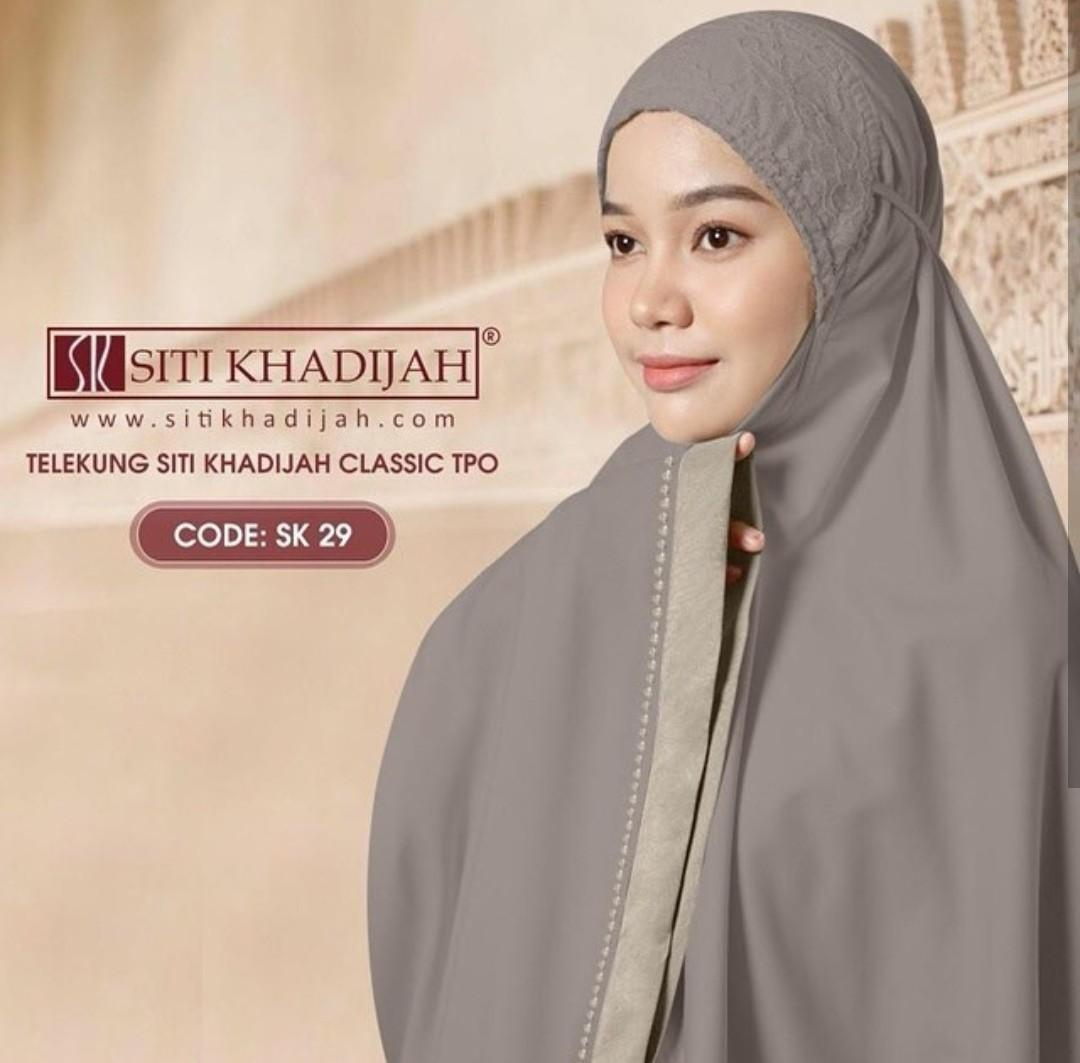 Siti khadijah Classic TPO Authentic Telekung