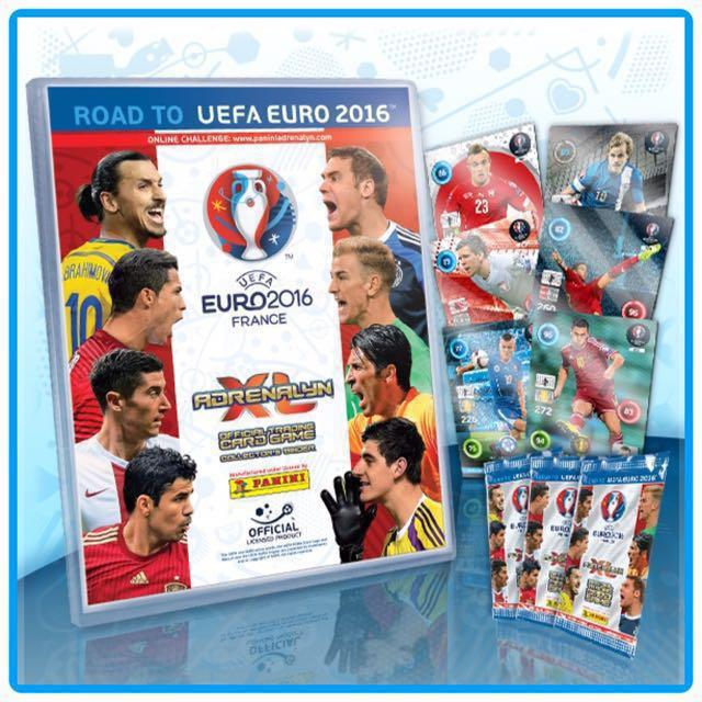 Sold Out Panini Adrenalyn Xl Road To Euro 2016 France Trading Cards Toys Games On Carousell