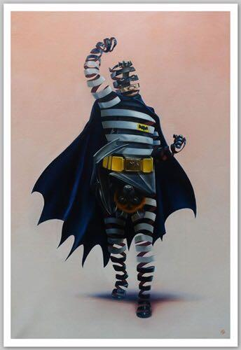 Super A - Batman art print limited 75 全球限量75張