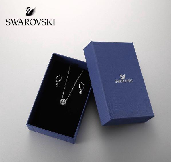 ❌Swarovski Necklace set with earrings