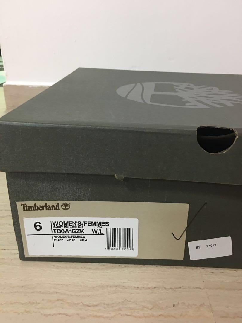 Timberland women's Black Boots