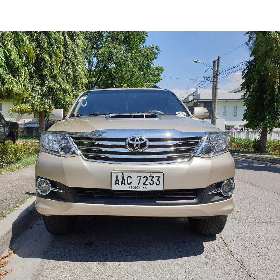 Toyota Fortuner 2014 G Diesel Automatic on Carousell