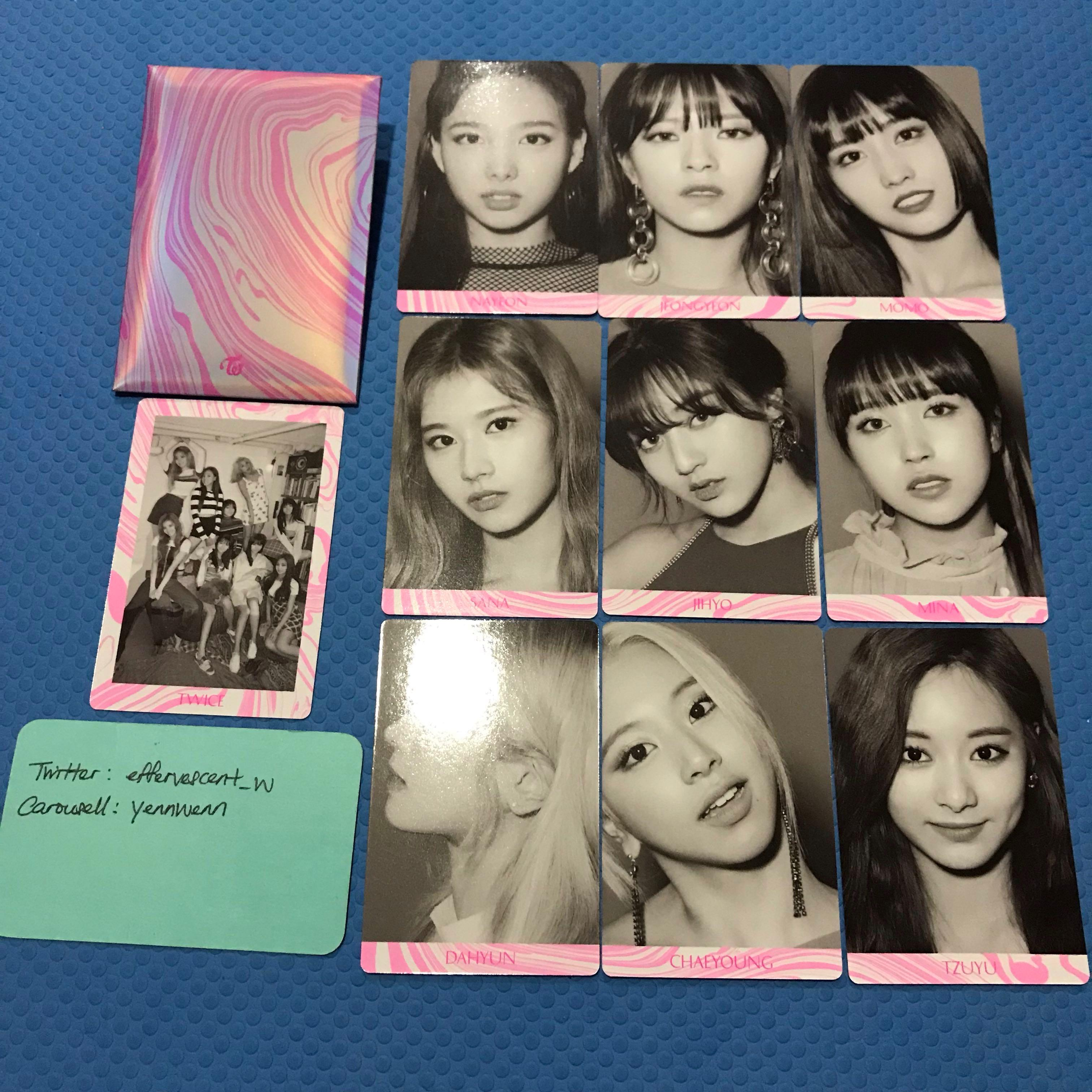 Twice Fancy You Official PO Benefit Photocard Set C