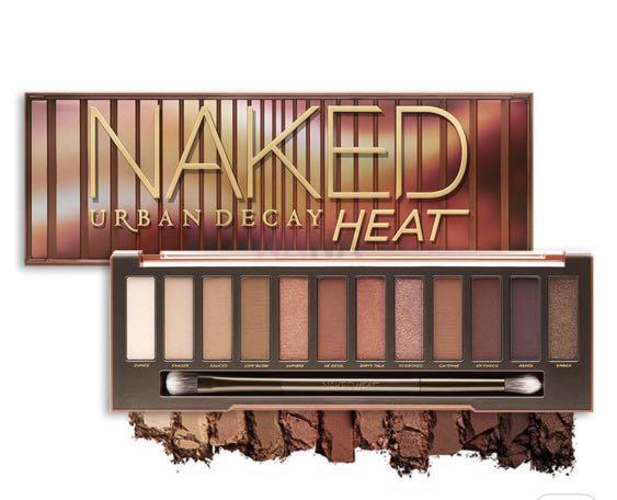 Urban Decay Naked Heat Palette, Health & Beauty, Makeup on