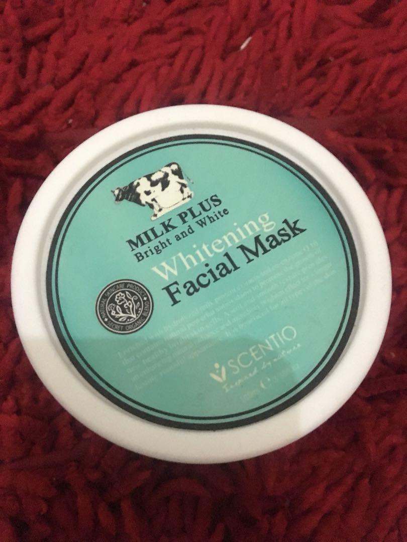 Whitening facial mask / masker / mask / pemutih