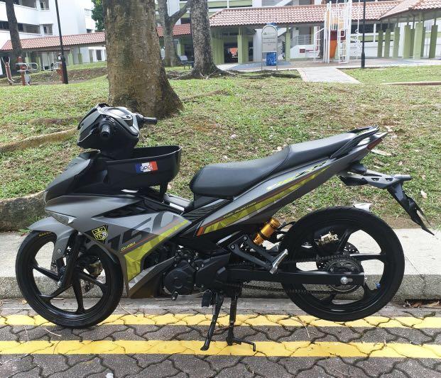 YAMAHA 150 MX King 2019 (Y15ZR V2) HLY COVERSET, Motorbikes
