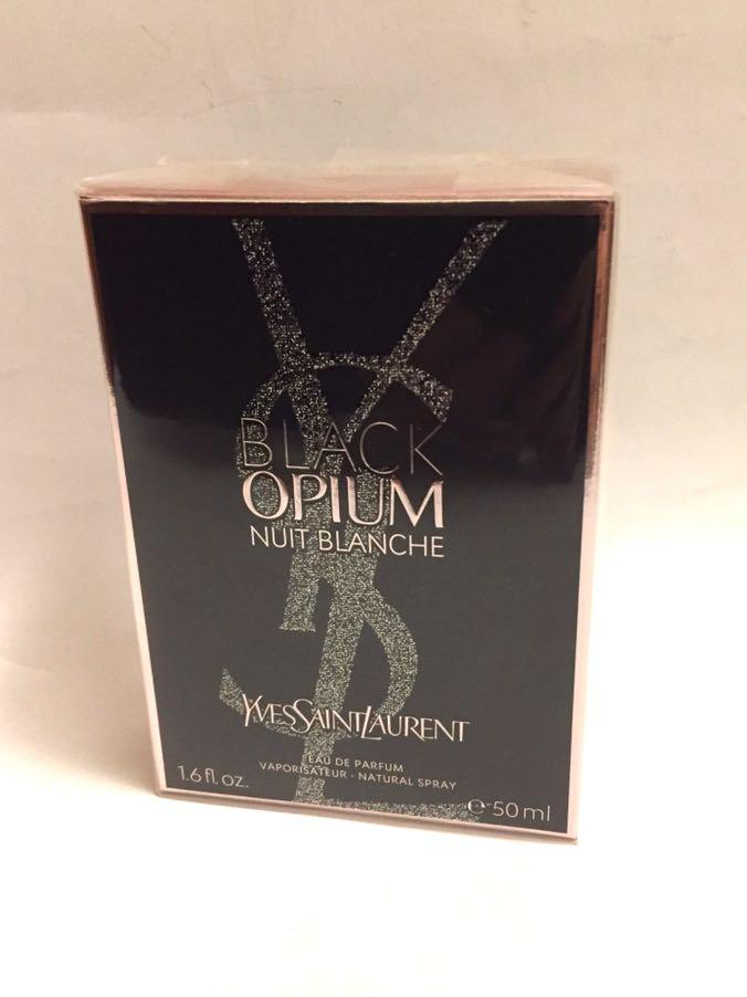 YSL 女士香水 black opium eau de parfum Natural spray 50ml, 原價$930, 全新