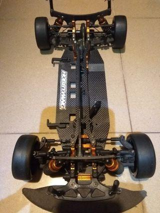 Xray T3 RC rolling chassis