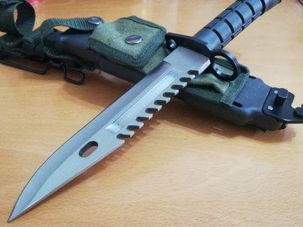 美軍現役 D80 軍刀,刺刀,求生刀,露營刀,直刀,戰術刀。