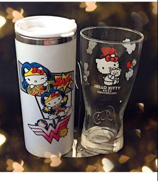 🚚 全新Hello kitty 40 週年紀念杯、304不鏽鋼隨手杯/不議價